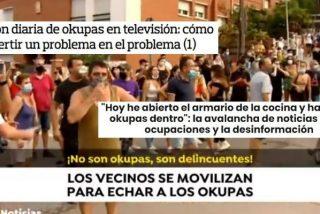 Los panfletos de izquierdas rabian de lo lindo con los medios que denuncian la 'peste okupa'