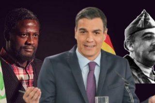 Bertrand Ndongo (VOX) pone patas arribas Twitter al preguntarse si se vivía mejor con Franco o con Sánchez