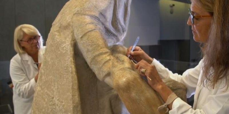Salen a la luz los secretos de la 'Piedad' de Miguel Ángel