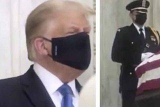 """Donald Trump es fuertemente abucheado durante el homenaje a la jueza fallecida Ruth Bader Ginsburg: """"Votad para que se vaya"""""""
