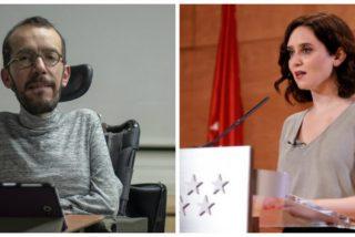 Twitter 'confina' a Echenique por su última barrabasada sobre Díaz Ayuso