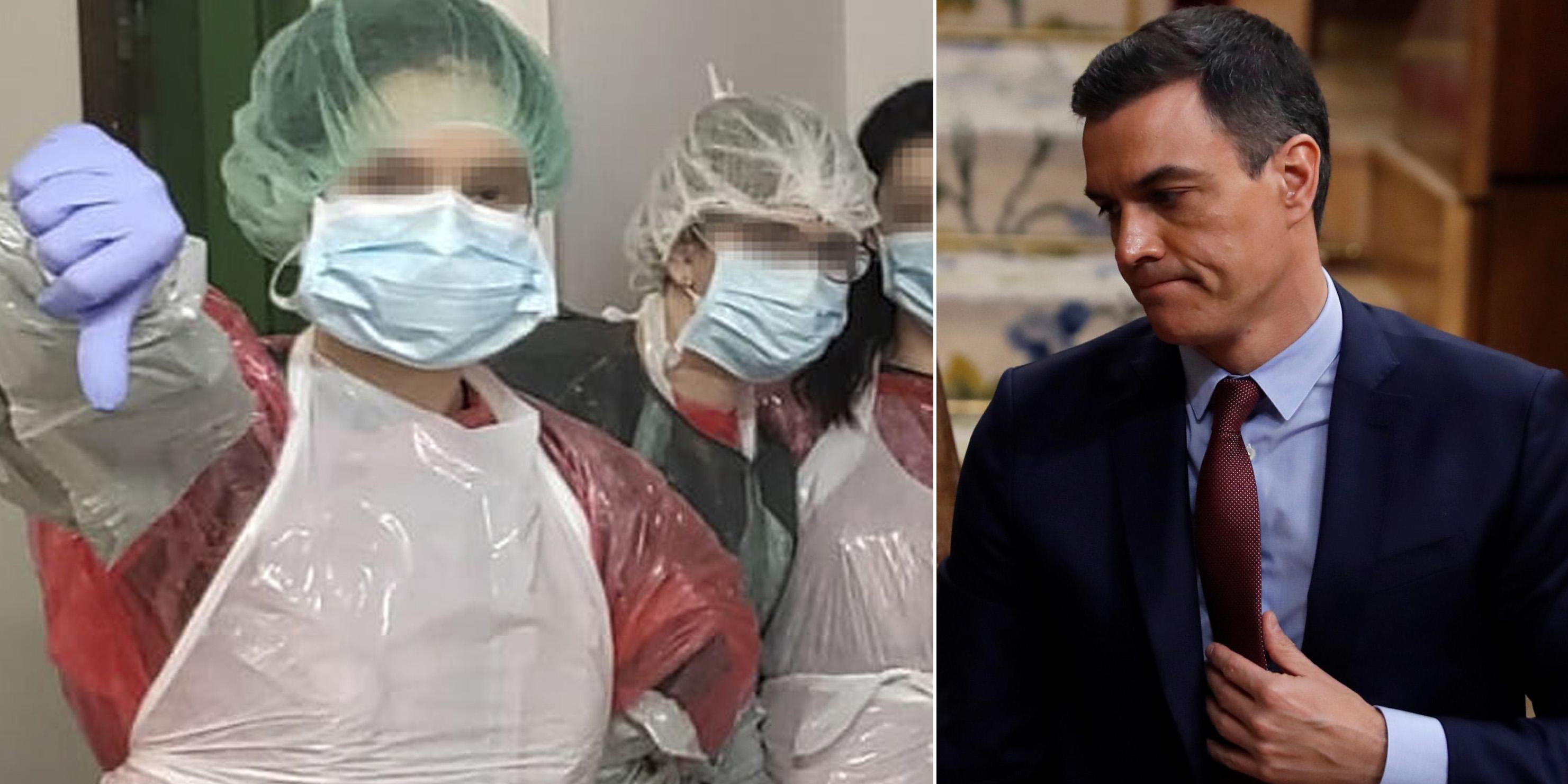 Una encuesta científica vapulea a Sánchez por liderar la peor protección para sus médicos frente al Covid-19: ya hay cuatro reinfectados