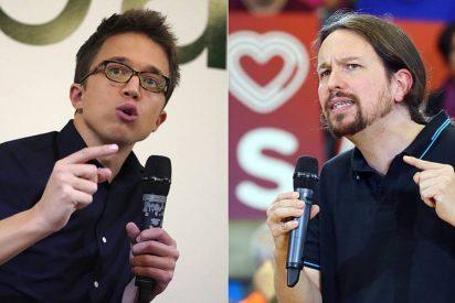 """Errejón contra su antiguo jefe: """"Iglesias protesta mucho en Twitter, pero las decisiones las toma Sánchez"""""""
