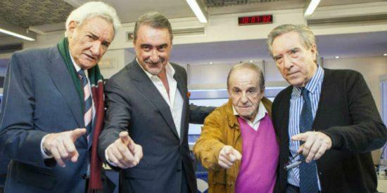Los 35 millones que ganará Herrera superan con creces a lo ganado por García, Del Olmo o Gabilondo