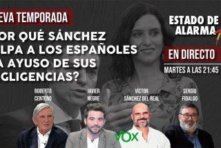 TERTULIA / ¿Por qué Sánchez culpa a los españoles y a Ayuso de sus propias negligencias?