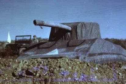 El lado imbécil de los nazis: EEUU usó tanques inflables para engañarlos durante la Segunda Guerra Mundial