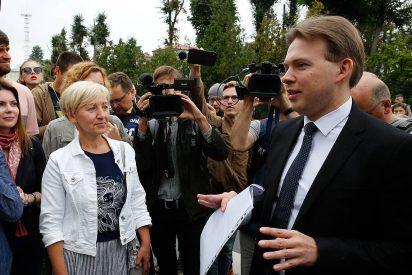 Secuestran a otro líder opositor bielorruso en Minsk
