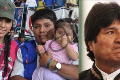 Evo Morales, el pederasta amigo de Iglesias y Monedero, tuvo una hija en secreto con una niña de 15 años