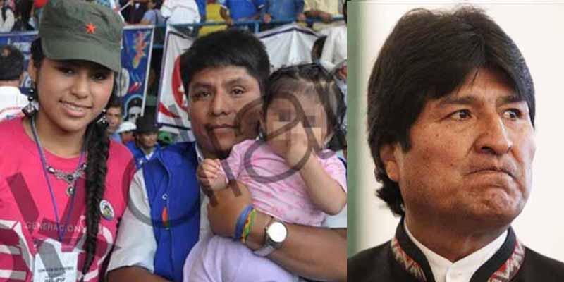 Evo Morales, el pederasta amigo de Pablo Iglesias y Monedero, tuvo una hija en secreto con una niña de 15 años