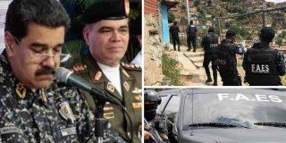 Chavismo sangriento: El FAES, cuerpo de exterminio de Maduro, ha asesinado a más de 10.000 venezolanos desde el 2018