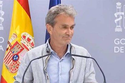 Fernando Simón vuelve tras bucear con Jesús Calleja y se encuentra 117.000 contagios más sobre la mesa