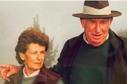 Fabiola Domecq con Tito, su marido