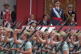 El mensaje militar que el Rey Felipe manda a Pablo Iglesias: ¡Conmigo están los novios de la muerte!