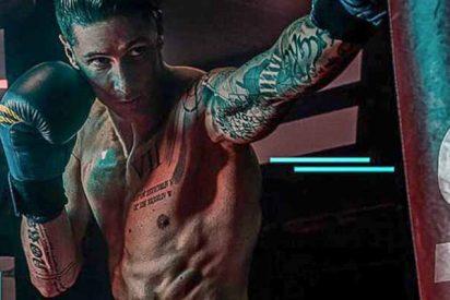Explosión muscular: La metamorfosis de Fernando Torres tras cambiar el campo por el cuadrilátero de boxeo