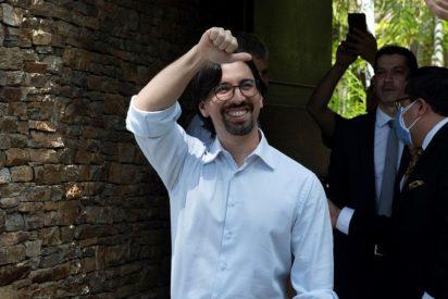Freddy Guevara, perseguido por el régimen chavista, abandona la embajada de Chile tras más de 1.000 días