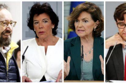 El descacharrante paralelismo que hace Girauta del Gobierno socialcomunista de Sánchez