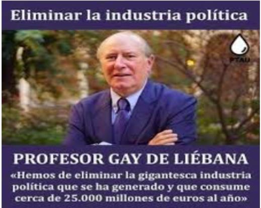 """Manuel del Rosal: """"Al señor Gay de Liébana"""""""
