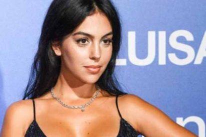 Georgina Rodríguez 'revienta' Venecia y supera a Kim Kardashian con una ajustado vestido de lentejuelas