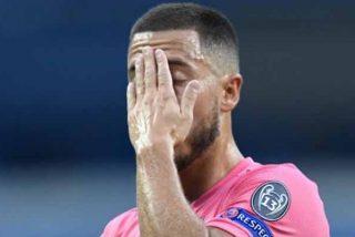Alarma en la delantera del Real Madrid: Hazard cae lesionado otra vez