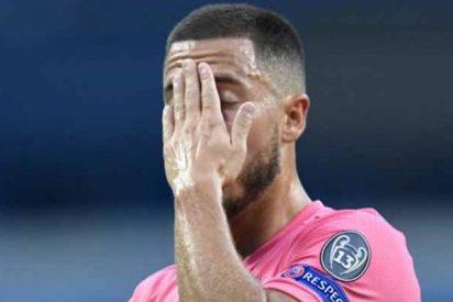 Baja en el Real Madrid: Hazard sufre una lesión muscular en el recto anterior del muslo derecho
