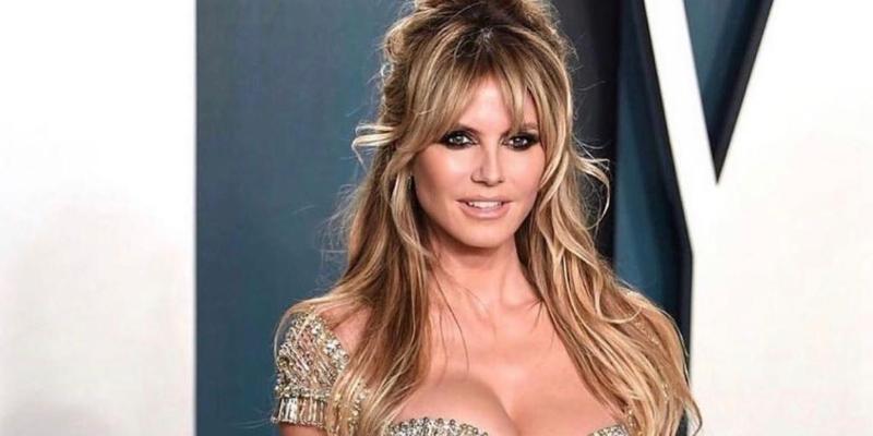 Más lanzada y sensual que nunca: Heidi Klum se atreve con un topless de infarto a sus 47 años