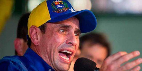 Henrique Capriles hizo un llamamiento para participar en las elecciones fraudulentas de Maduro