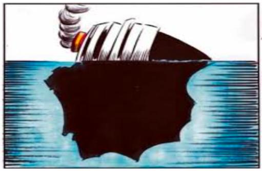 """Manuel del Rosal: """"El hundimiento del Titanic y el hundimiento de España"""""""