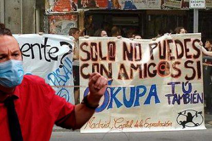 Contra la propiedad privada desde una mansión en Galapagar ya favor de la 'okupación' desde el Congreso