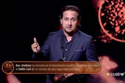Iker Jiménez regresa a TV señalando a todos los que se rieron de él y bate récords de audiencia