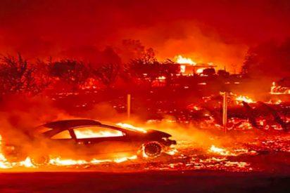 Los incendios en la Costa Oeste de EEUU arrasan decenas de pueblos y dejan ya 16 muertos