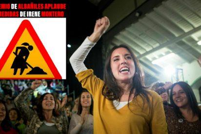 La señal de tráfico que se hace viral porque humilla a Irene Montero y al feminismo sectario