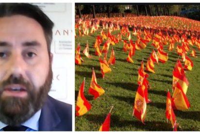 """Entrevista a Jaime Sánchez (ANVAC), promotor de las 53.000 banderas: """"No ha sido el virus sino la nefasta gestión del Gobierno la que provocó tantas muertes"""""""