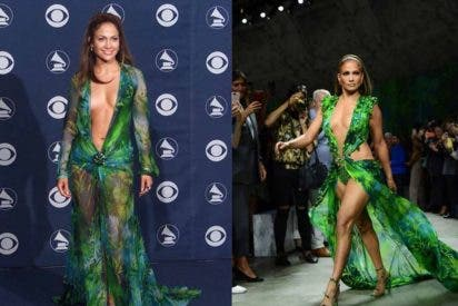 Demi Lovato se enfunda el Versace inmortalizado por Jennifer Lopez