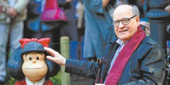 Mafalda, de luto: fallece Quino a los 88 años
