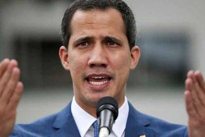 """Guaidó denuncia ante la Unión Europea las """"inaceptables"""" elecciones de Maduro"""