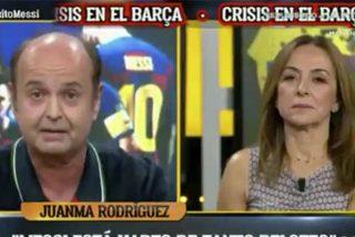 """Repaso humillante en El Chiringuito: """"¡Cinco kilos he engordado solo de palomitas con lo de Messi!"""""""