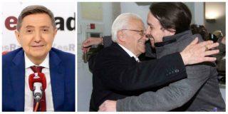"""Losantos: """"Iglesias tiene que plantear un referéndum y si pierde frente a Felipe VI que disuelva Podemos y se vaya con el Padre Ángel"""""""