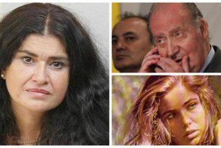 Lucía Etxebarria incendia Twitter al vincular a Juan Carlos I con una actriz del destape ya fallecida