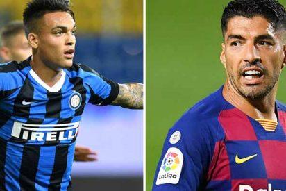 Bartomeu se enreda con la salida de Suárez y Florentino se lanza a por Lautaro