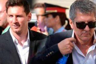 El padre de Messi suelta el primer 'bombazo' tras aterrizar en Barcelona