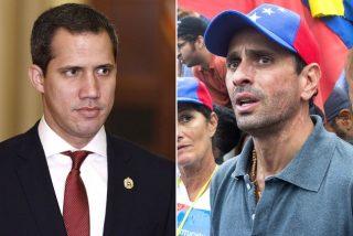 Guaidó critica a Capriles y Stalin González por intentar una negociación con la dictadura de Maduro