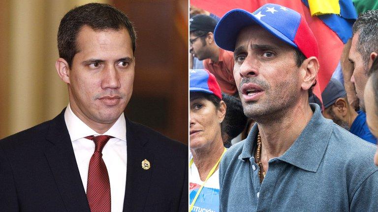 Cuentas afines al dictador Maduro impulsan la guerra de Capriles contra Guaidó en Twitter