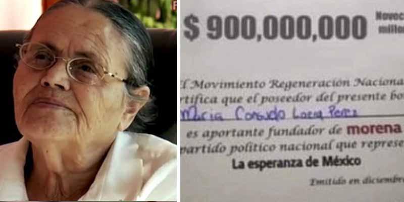 La verdad acerca de la supuesta donación de 900 millones de pesos hecha por la madre de 'El Chapo' al partido de López Obrador