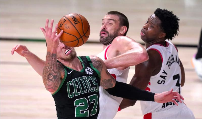 NBA: Los Celtics eliminan a los campeones Raptors y acceden a la final del Este