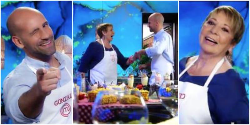Gonzalo Miró bailando con Celia Villalobos en TVE, lo más surrealista del nuevo spot de MasterChef
