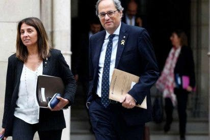 Éramos pocos y parió...Torra: el 'indepe' exige ahora a Sánchez hablar de autodeterminación en la mesa de diálogo