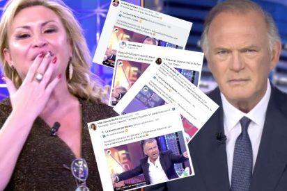 Reputados periodistas se rebelan contra la falta de respeto de Raquel Mosquera a Pedro Piqueras