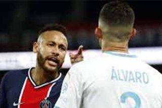 Expertos en lectura de labios lograron determinar el insulto de Álvaro a Neymar en el clásico de Francia
