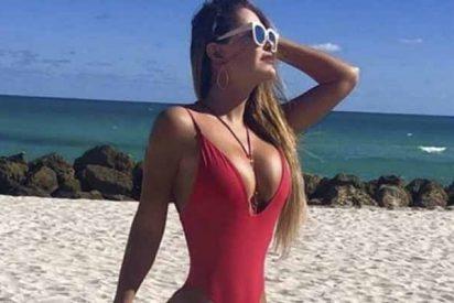 'El bombón asesino' elimina una foto topless y aparece otra totalmente desnuda