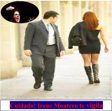 "Manuel del Rosal: ""No mires. Irene Montero (Gran Hermano, te vigila)"""